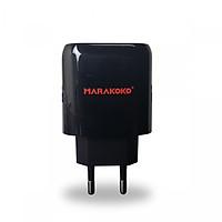 Củ sạc Marakoko MA16 2 cổng sạc nhanh Smart ID