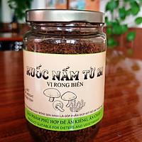 Ruốc nấm chay vị rong biển 100g - Thực phẩm chay Bông Sen Xanh