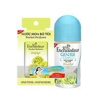 Lăn khử mùi Enchanteur Gentle  Delightful 50ml+Tặng Nước hoa bỏ túi 18ml