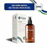Dầu gội dược liệu Antisol - Ngăn ngừa nấm da đầu, gàu, ngứa da đầu