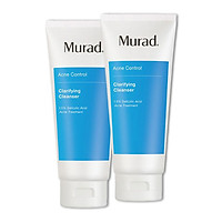 Combo 2 Hộp Sữa rửa mặt cho da mụn Murad Clarifying Cleanser (200ml - fullsize)