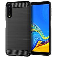 Ốp Lưng Dẻo Dành Cho Samsung Galaxy A7 2018 Vân Xước Chống Sốc- Hàng Chính Hãng