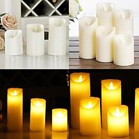 1/12Pcs LED Flameless Flickering Candle Tea Light Battery Operated Wedding Candles Tealight Led Tea Light