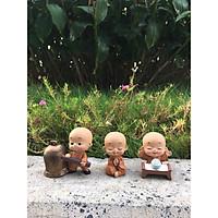 Bộ 03 tiểu vàng học tập ở chùa