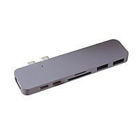 Cổng chuyển Hyperdrive DUAL USB-C Hub cho MacBook Pro 13
