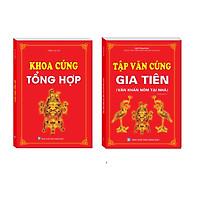 Sách – Combo Khoa cúng tổng hợp ,Tập văn cúng gia tiên (Văn khấn nôm tại nhà)