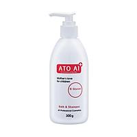 Sữa tắm và gội toàn thân dành cho bé an toàn chiết xuất từ thiên nhiên và thảo dược ATO AI 300g