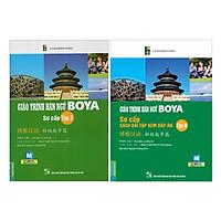 Combo Giáo Trình Hán Ngữ Boya Sơ Cấp 2 + Sách Bài Tập Đáp Án (Tái Bản - Kèm App) (Tặng Kèm Booksmark)