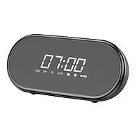 Loa Bluetooth Cao Cấp Kiêm Đồng Hồ Báo Thức & Đèn Ngủ Đa Chức Năng OLAPLE E09 - Hàng Nhập Khẩu