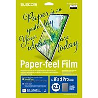Miếng dán màn hình cho Ipad Pro 12.9 inches Elecom Paper- Feel TB-A18LFLAPLL-W - Hàng chính hãng