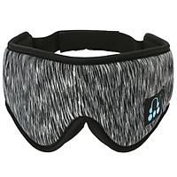 Wireless Music Eye Mask 3D BT Sleep Mask Sleep Headphones with Microphone Calling Hand-free Music Blindfold Eye Mask for