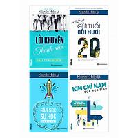 Combo 4 Cuốn Sách Hay: Lời Khuyên Thanh Niên + Thư Ngỏ Gửi Tuổi Đôi Mươi + Săn Sóc Sự Học Của Các Con + Kim Chỉ Nam Của Học Sinh (Tặng kèm bookmark thiết kế)