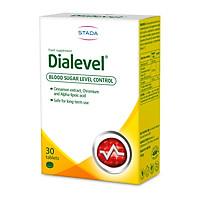 Viên uống tiểu đường DIALEVEL - hổ trợ giảm lượng đường trong máu - cải thiện chỉ số đường huyết - ngăn ngừa biến chứng tiểu đường - Hộp 30 viên - Stada