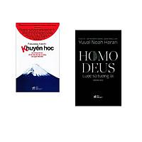 Combo 2 cuốn sách: Khuyến học   + Homo Deus lược sử tương lai