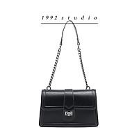 Túi xách nữ 1992 s t u d i o/ PRONY BAG/ màu đen đeo chéo đeo vai