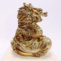 Tượng Rồng Phong Thủy Bằng Đồng Kim Tiền Jewelry