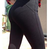 Quần legging nữ dáng dài nâng mông không ưng giảm tiền