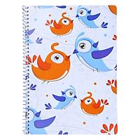 Sổ Lò Xo Devyt A4 160 Trang Đl70/92 - Chim