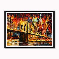 Tranh cao cấp Cầu Brooklyn - New York Model: AZ1-0225
