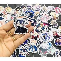 Set 60 Sticker Fate/Grand Order hình dán có ép lụa
