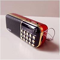 Loa Nghe Nhạc USB Thẻ Nhớ BKK K51 Có Đèn Pin - 2 Pin, Nghe Thẻ Nhớ, USB, FM Radio, Có Jack Tai Nghe