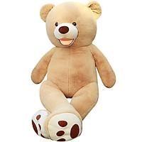 Love still bear plush toy bear teddy bear hug bear oversized panda doll cloth dolls doll birthday gift female American bear 1.3 m