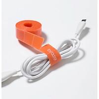 Băng gai dính quấn gọn dây cáp điện thoại, máy tính, dây điện BCASE - Hàng chính hãng