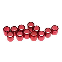 12 Pieces Metal Explosion-proof Ring for OD 7.6mm Arrow Shaft Archery