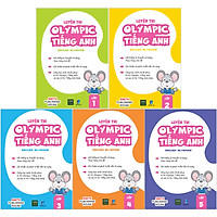 Combo Luyện Thi Olympic Tiếng Anh - English Olympiad ( Lớp 1 -> Lớp 5 )