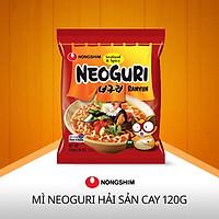 Mì gói Nongshim Neoguri seafood hot 120g - vị hải sản- Hàn Quốc