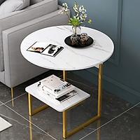 Bàn trà - Bàn uống nước để bên sofa bàn có thể để đọc sách báo