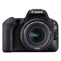 Máy Ảnh Canon EOS 200D (Kiss x9) + 18-55mm IS STM (Đen) - Hàng Nhập Khẩu