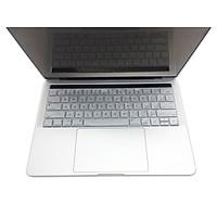 Miếng lót bàn phím in chữ Silicon skin keyboard Macbook Air 11 có thể rửa - Hàng Chính Hãng