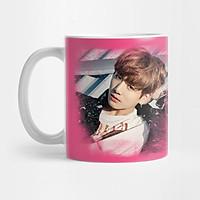 Cốc sứ BTS in hình JUNGKOOK ly sứ uống trà cafe