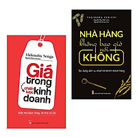 Combo Sách Kỹ Năng Làm Việc: Nhà Hàng Không Bao Giờ Nói Không + Giá Trong Chiến Lược Kinh Doanh (Bộ Sách Kinh Tế Áp Dụng Trong Kinh Doanh)