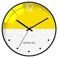 Đồng hồ treo tường hiện đại nghệ thuật Bắc Âu- Mẫu 1