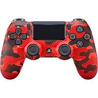 Tay Cầm PlayStation PS4 Sony Dualshock 4 (Màu Đỏ Camo) - Hàng Chính Hãng