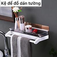 Kệ dán tường đa năng, kệ để đồ phòng tắm, kệ nhựa, kệ để đồ nhà bếp, kệ để đồ phòng bếp phong cách hiện đại