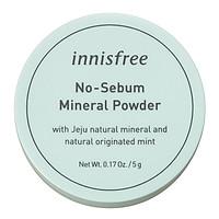Phấn Phủ Kiềm Dầu Dạng Bột Khoáng Innisfree No Sebum Mineral Powder 5g - 131170490