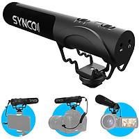 Micro đa năng cho điện thoại-máy ảnh-máy quay Synco Mic-M3 thu âm định hướng super-cardioid - Hàng chính hãng