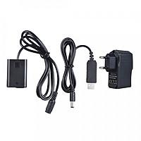 Pin Giả Andoer NP-FW50 Và Cáp Chuyển Đổi USB Cho AW-PC20 Dòng Máy Sony (5V/3A)