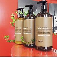 Bộ phục hồi tóc hư tổn 3 bước Nashi Filler Therapy 1000ml