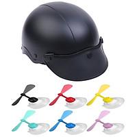 Mũ Bảo Hiểm Nửa Đầu Thời Trang Nhiều Màu + Tặng Kèm Chong Chong Tre Doremon Siêu Ciu _ Nón bảo hiểm 1/2 PGK nhiều màu