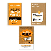 Combo Thấu Hiểu Amazon: 10 Bước Xây Dựng Thương Hiệu Việt Thành Công Trên Amazon + Phương Thức Amazon + Tư Duy Amazon