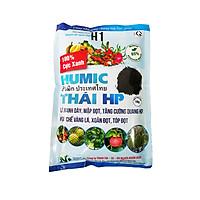 Phân bón HUMIC THÁI HP (1kg/gói) | Lá xanh dày, mập đọt, tăng cường quang hợp - Hạn chế vàng lá, xoăn đọt, tóp đọt