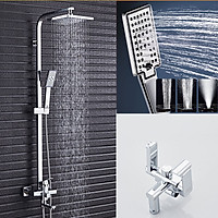 Bộ sen cây tắm đứng Nóng Lạnh Bộ sen vòi tắm chuẩn INOX 304 - Hàng Chính Hãng