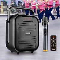 Loa Bluetooth Karaoke W-King T5 (20W, Kèm 1 Micro Không Dây) - hàng chính hãng