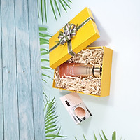 Combo hộp quà sinh nhật đẹp độc lạ size 23x17x7cm tặng thiệp + giấy rơm lót + túi quà - HQ12