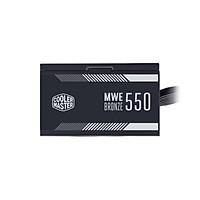 Nguồn máy tính Cooler Master  MWE 550 BRONZE V2 - 80 Plus BRONZE - Hàng chính hãng