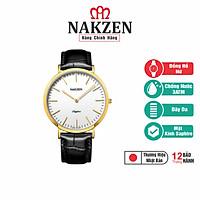 Đồng Hồ Nữ Cao Cấp Nakzen Nhật Bản - SL4050GD-7 - Hàng Chính Hãng